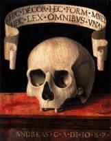 Memento Mori, Andrea Previtali, 1503