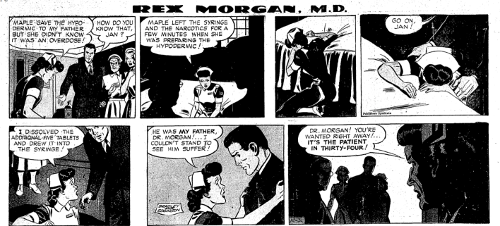 Rex Morgan: © 1950 North America Syndicate. World Rights Reserved