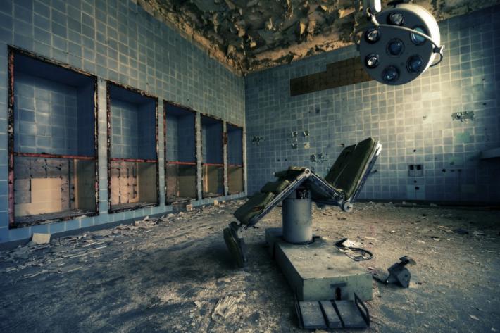 Daniel Schmitt, Sowjetisches Krankenhaus, © Daniel Schmitt