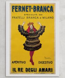 Fernet Branca advertisement from the Almanacco del Fanfulla, 1875. Courtesy of Collezione Branca.