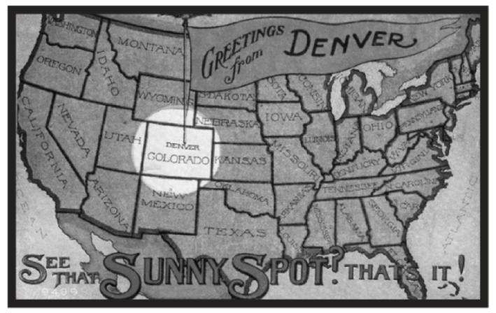 Sunny Spot. © Denver Public Library