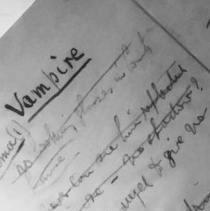 Vampire page copy
