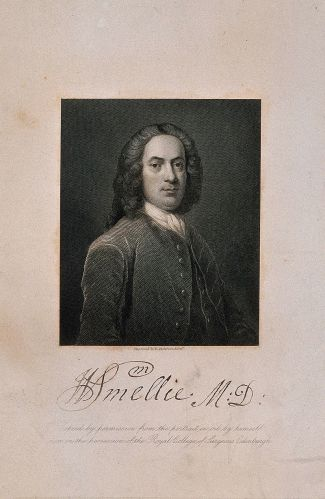 Portrait of William Smellie. © Wellcome Images, Wellcome Library, London.